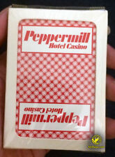 Original Peppermill Hotel Casino Unopened Playing Cards