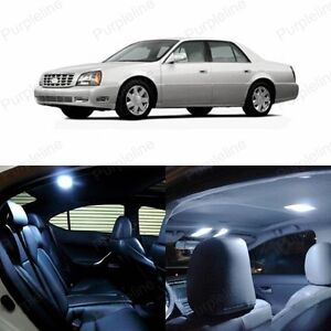 13 x Xenon White LED Interior Light Package For 2000 - 2005 Cadillac DeVille