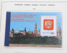 Russland 1997 bis 2005 postfrische Neuheiten Sammlung mit Kleinbogen in 2 Alben