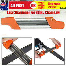 "2 in 1 Easy Chainsaw Chain File Sharpener 4.0mm For STIHL 3/8""P L"