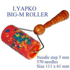 LYAPKO BIG - M ROLLER. Acupuncture massager. APPLICATION DEVICE. NIB