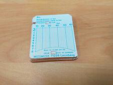 MotoMeter 513 412 5100 Charts - Pack of 25 Diesel 10 - 60 Bar