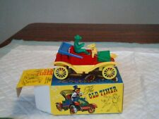 Vintage Plastic Old Timer Car Kids Germany Boxed Multi Moving Parts Toy Truck