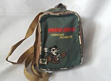VINTAGE AUTHENTIC DISNEY MICKEY MOUSE FAMOUS PLAYER BOYS' BACKPACK
