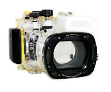 40M 130ft Underwater Diving Waterproof Housing Case Cover for Canon G16 18-55MM
