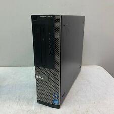 Dell Optiplex 3010 Dt Intel Core i5-3470 3.2Ghz 4Gb 500Gb Hdd Win 10 Computer