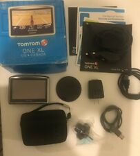 """TomTom ONE XL Portable Car 4.3"""" LCD GPS System US/Canada MAP navigator Fast Ship"""