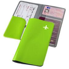 Reisebörse Dokumentenmappe Tickettasche Ticketmappe Dokumentenmappe Mappe grün