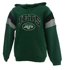 New York Jets Official Nfl Apparel Kids Youth Size Hooded Sweatshirt New Tags