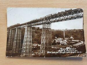 Crumlin Viaduct - T W Kennard - Old Postcard 540
