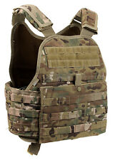Rothco MOLLE Plate Carrier Vest Front & Back Internal Sleeves MultiCam 8928