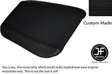 Vinilo negro automotriz Personalizado se ajusta Cagiva Mito 125 95-07 Trasero Cubierta de asiento solamente