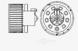 HVAC Blower Motor Global 2311615