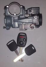 05-08 HONDA PILOT OEM Ignition Lock Cylinder Switch+3 keys(1with REMOTE)+Antenna