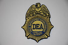 DRUG ENFORCEMENT ADMINISTRATION DEA PATCH GOLD TASK FORCE OFFICER DOJ FBI ATF BP