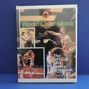 VTG World Champions The Official NBA Sonics Yearbook 1979 Hard Cover Book SEALED