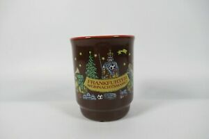 Frankfurter Weihnachtsmarkt German Christmas Market-ceramic mug