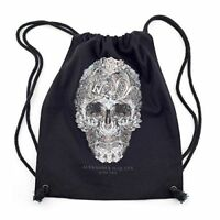 Alexander McQueen Exhibition Savage Beauty V&A London Ltd Edition Drawstring Bag