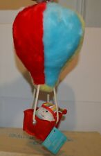 Vintage musical mobile toy hot air balloon