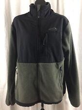 Polar Edge Men's Polartec Thermal Water Resistant Fleece Zip Up Coat Jacket Sz S