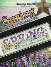 STONEY CREEK Cross Stitch Pattern Leaflet SPRING Divisions of Nature #520