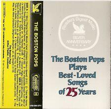 The Boston Pops (Arthur Fiedler) Plays Best-Loved Songs of 25 Years (Cassette)