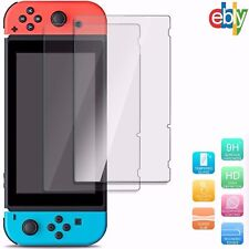 2 Pack Premium Tempered Glass Screen Protector Film For Nintendo Switch