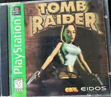 New listing Tomb Raider 1 Playstation 1 Ps1