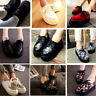 UK Women Ladies Flat Wedge Platform Creepers Shoes Lace Up Goth Punk Boots