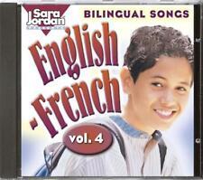 anglais-français: V.4 (bilingue Chansons) par Marcie, Marie-France CD AUDIO