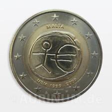 2 euro Malte 2009 10 ans Ewu EMU