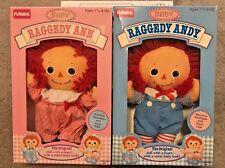 Vintage Playskool Baby Raggedy Ann And Andy 8 Inch Baby Dolls 1989 MIB