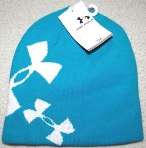 Under Armour Girls Glow Reversible Knit Beanie Hat $25