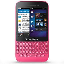 BlackBerry Q5  Pink Qwerty Tastatur Wi-Fi GPS HSDPA Push Email LTE Touchscreen