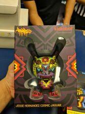 """Kid Robot 5"""" Jesse Hernandez Cosmic Jaguar Skull Dunny Exclusive Urban Aztec"""