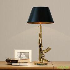 New Philippe Starck AK47 Gun Table Lamp LED Desk Light Lighting gold/silver Copy
