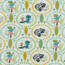 Half Metre Quilting Fabric ~ Riley Blake ~ Woodland Tails ~ Owls ~ Blue