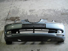Genuine Jaguar S-Type Complete Front Bumper In Blue With Fog Lights AWJ (ABREC)