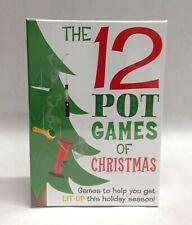 12 Pot Games Of Christmas 420 Lit Up Holiday Dreidel Dice Dope Hoist Gift Prize