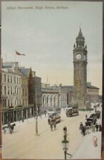 Irish Postcard ALBERT MEMORIAL Clock Tower BELFAST Northern Ireland W & G.B. Ltd