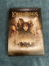The Lord of the Rings: The Fellowship of the Ring (Dvd, 2002, 2-Disc Set,.