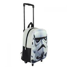 Official Star Wars Rebels Stormtrooper 3D Image Carry Kids Travel Trolley Bag