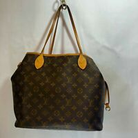 Louis Vuitton M40156 Neverfull MM Women's Tote Bag