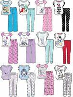 Ladies/Girls Disney Cotton PJ Top Lounge Pants Pyjama Set GIFT