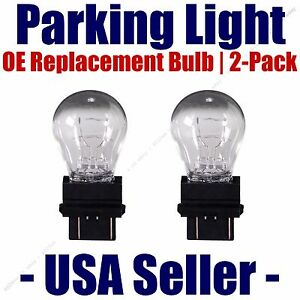 Parking Light Bulb 2-pack OE Replacement Fits Listed Saturn Vehicles - 4157K