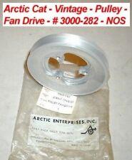 Arctic Cat Pulley, Fan Drive # 3000-282 Vintage 1971 EXT - NOS