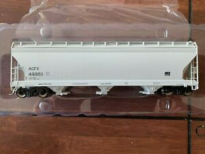 Intermountain HO ACF 4650 Covered Hopper ACFX Gray 49951 2 of 2