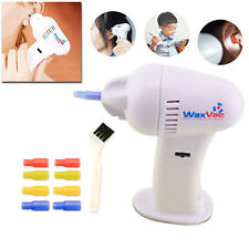 New WaxVac Electronic Gentle Ear Cleaner Cleaning Remover Silicone Tips *Offer*