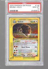 2003 Skyridge 148/144 Crystal GOLEM Secret Rare PSA 10 GEM MINT Pokemon