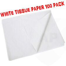 100 Sheets of White Acid Tissue Paper 375x500mm